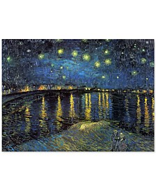 "Vincent van Gogh 'The Starry Night II' Canvas Art - 47"" x 35"""