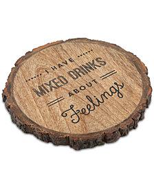 Thirstystone Feelings Bark Edge Single Coaster