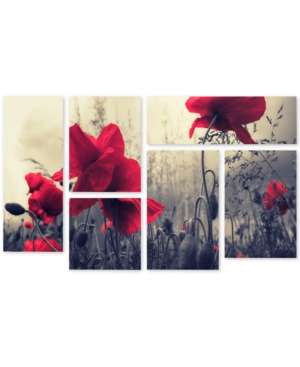 Philippe Sainte-Laudy Red For Love Multi-Panel Wall Art Set, 12 x 18