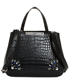 GUESS Britta Jeweled Society Satchel