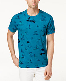 Tommy Hilfiger Men's Kahuna Graphic-Print T-Shirt, Created for Macy's