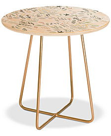 Deny Designs Floral Goodness Side Table