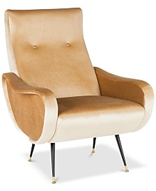 Leven Accent Chair, Quick Ship