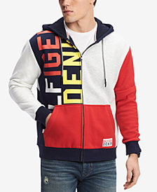 Tommy Hilfiger Denim Men's MacGyver Graphic-Print Hoodie