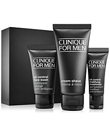 Clinique 3-Pc. Clinique For Men Daily Oil Control Starter Set