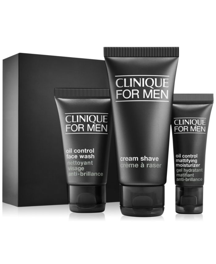 Clinique 3-Pc. Clinique For Men Daily Oil Control Starter Set & Reviews - Beauty Gift Sets - Beauty - Macy's