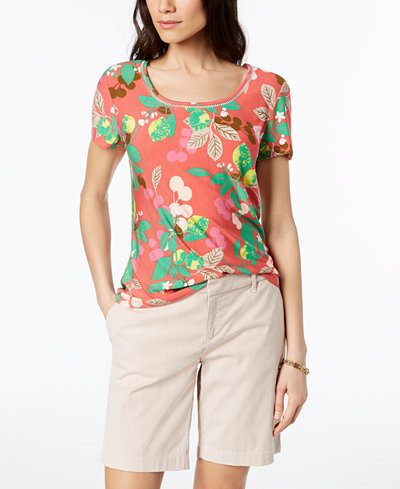 Tommy Hilfiger Printed T-Shirt, Created for Macy's