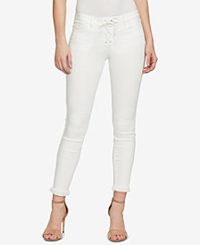 WILLIAM RAST Lace-Up Skinny Jeans