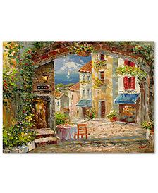 "Rio 'Capri Isle' 24"" x 32"" Canvas Art Print"