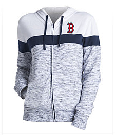 5th & Ocean Women's Boston Red Sox Space Dye Hoodie