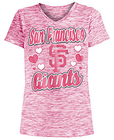 5th & Ocean San Francisco Giants Spacedye T-Shirt, Girls (4-16)