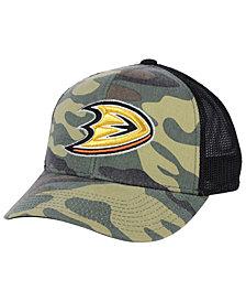 adidas Anaheim Ducks Camo Trucker Cap