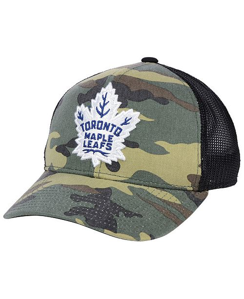 9751eac3cd7 adidas Toronto Maple Leafs Camo Trucker Cap - Sports Fan Shop By ...