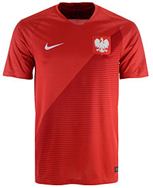 Nike Men's Poland National Team Away Stadium Jersey