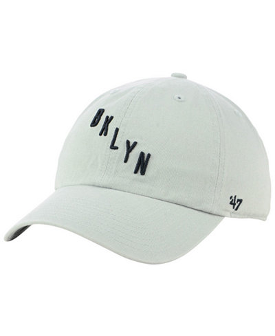 '47 Brand Brooklyn Nets Mash Up CLEAN UP Cap