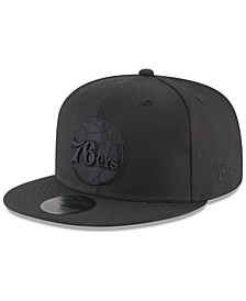 Philadelphia 76ers Blackout 59FIFTY Fitted Cap
