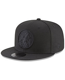 New Era Minnesota Timberwolves Blackout 59FIFTY Fitted Cap