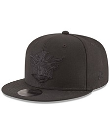 Phoenix Suns Blackout 59FIFTY Fitted Cap