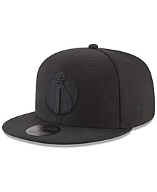 Washington Wizards Blackout 59FIFTY Fitted Cap