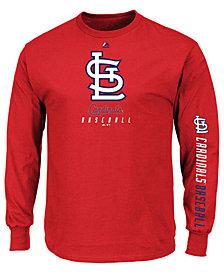 Majestic Men's St. Louis Cardinals Game Supreme Long Sleeve T-Shirt