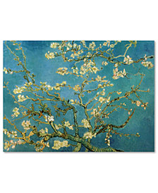"Vincent van Gogh 'Almond Branches In Bloom 1890' 24"" x 32"" Canvas Art Print"
