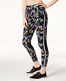 Calvin Klein Performance Botanica Printed Ankle Leggings