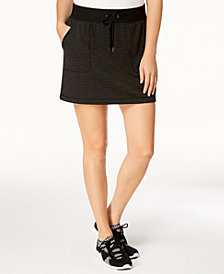 Ideology Striped Short Skirt, Created for Macy's