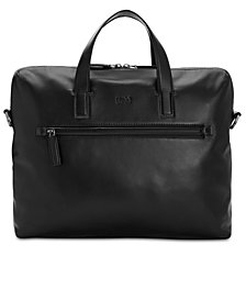 Hugo Boss Men's Leather Document Case