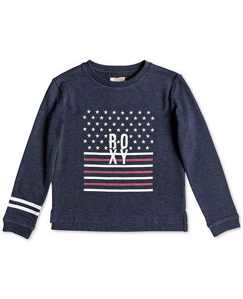 d0bd653c028e Roxy Graphic-Print Sweatshirt