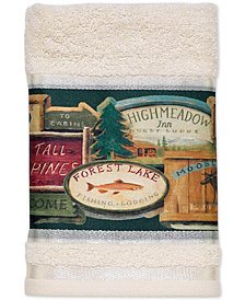 "Avanti Rather be Fishing 16"" x 30"" Hand Towel"