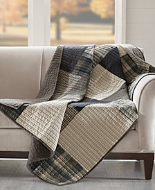 "Woolrich Winter Hills 50"" x 70"" Quilted Throw"