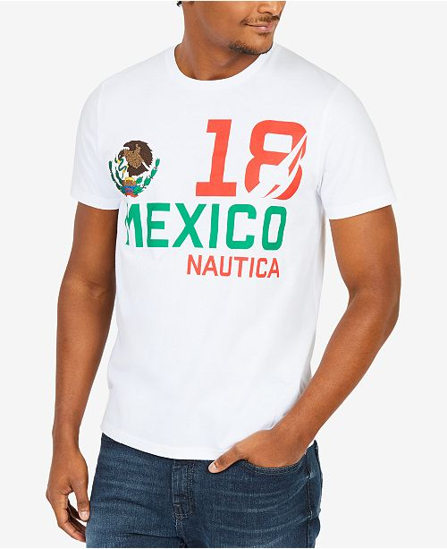 933df1b4 Nautica Men's Country Graphic-Print T-Shirt, Created for Macy's ...