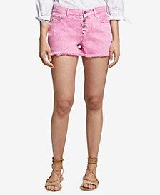 Sanctuary Frayed Denim Shorts