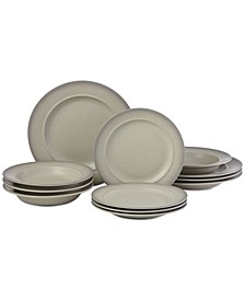 CLOSEOUT! 12-Pc. Madsen Dinnerware Set, a Macy's Exclusive Style