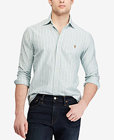 Polo Ralph Lauren Men's Classic Fit Striped Sport Shirt