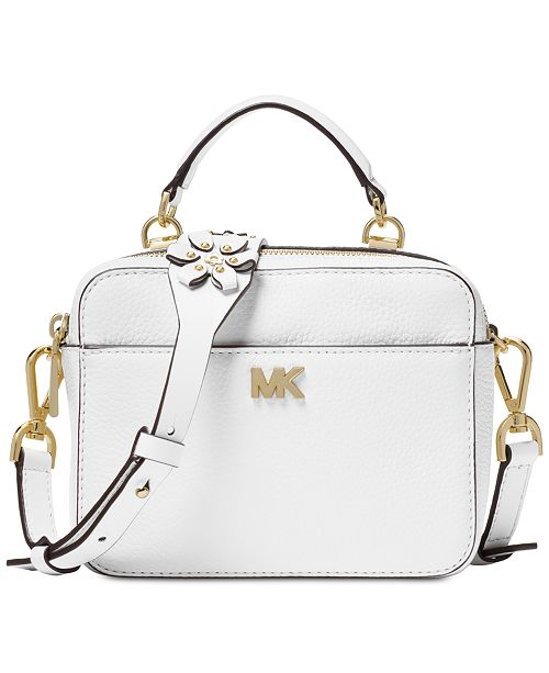 2927a819de97 Michael Kors Mini Floral Guitar Strap Crossbody   Reviews - Handbags ...