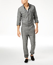 American Rag Men's Utility Jumpsuit, Created for Macy's