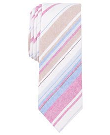 Original Penguin Men's Beals Stripe Skinny Tie