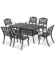 Madrid 7-Pc. Outdoor Dining Set, Quick Ship
