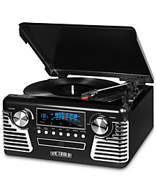 Innovative Technology Victrola Retro Bluetooth Record Player