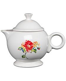 Fiesta Floral Bouquet Teapot