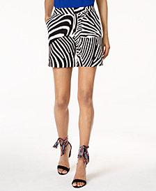 Trina Turk x I.N.C.  Zebra Print Shorts, Created For Macy's