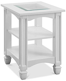 Bayside Chairside Table, Quick Ship