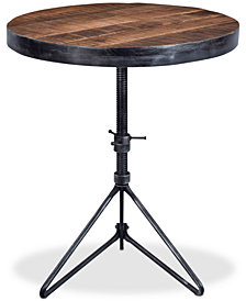 Braden Round Accent Table, Quick Ship