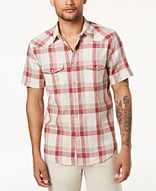 Lucky Brand Men's Plaid Shirt