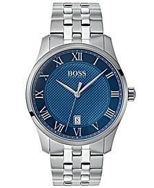 Hugo Boss Men's Master Stainless Steel Bracelet Watch 41mm