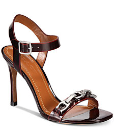 COACH Bonnie Signature Chain Dress Sandals