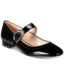 COACH Lexi Mary Jane Signature Flats