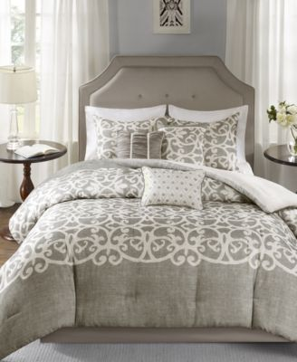 Cortana 7-Pc. Queen Comforter Set