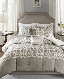 Madison Park Cortana 7-Pc. King Comforter Set